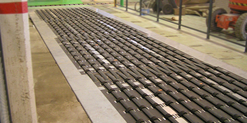Ramp Conveyor - roll handling equipment