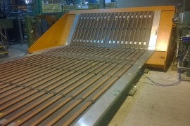 Ramp conveyor